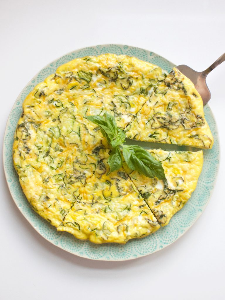 Squash and Scallion Frittata