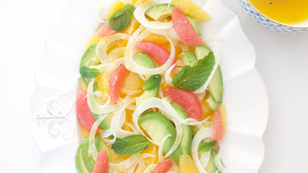 Citrus and Avocado Salad with Fennel