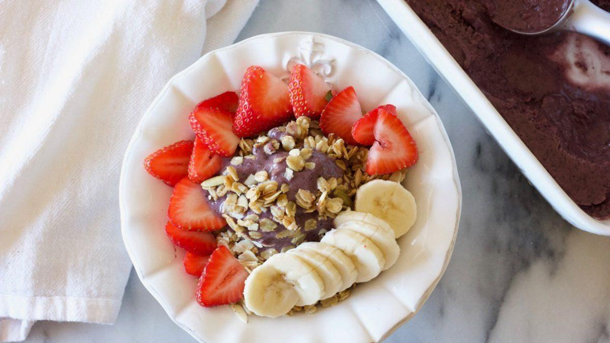 Acai Berry Bowl or Smoothie